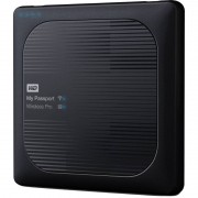 Hard disk extern WD My Passport Wireless Pro 1TB 2.5 inch USB 3.0 Black