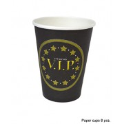 Pahare carton cald-rece 8bucati (model-VIP) - Cod 84600