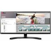 "Monitor IPS LED LG 34"" 34UM88C-P, WQHD (3440 x 1440), HDMI, DisplayPort, 5 ms (Negru) + Bitdefender Antivirus Plus 2017, 1 PC, 1 an, Licenta noua, Scratch Card"
