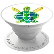 Suport Universal Popsockets cu Stand Adeziv, Model Turtle Love