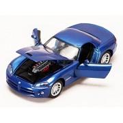 2003 Dodge Viper Srt 10, Blue Motor Max 73290/6 1/24 Scale Diecast Model Toy Car