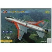 Model SVIT msvit72009 - Modélisme Jeu de Sukhoi su-7ig 22I, su, su 7bm with Wings, gris