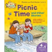 Oxford Reading Tree Read with Biff, Chip and Kipper: Level 2: Picnic Time and Other Stories by Roderick Hunt