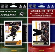 CandICollectables STARS13 NHL Dallas Stars Licensed 2013-14 Score Team Set & All-Star Set