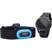 Garmin fenix 5 Armband apparaat Performer Bundle / Premium HRM-Tri Brustgurt grijs/zwart 2017 Hartslaghorloges