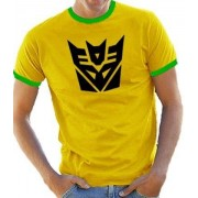 Touchlines B5074 Camiseta para hombre, color yellow/green, talla XL