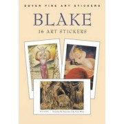 Blake: 16 Art Stickers by William Blake
