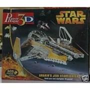 Puzz3D Star Wars: Anakin's Jedi Starfighter (505 Pieces) by puzz 3d
