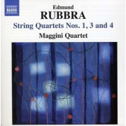 Rubbra - String Quartets 1,3 & 4 (0747313255573) (1 CD)