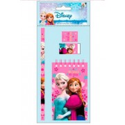 Set 4 piese Frozen, roz