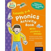 Oxford Reading Tree Read with Biff, Chip, and Kipper: Levels 3-4: Phonics Activity Book by Roderick Hunt
