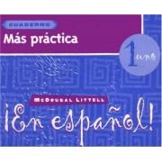 Mas Practica en Espanol! by Houghton Mifflin Company