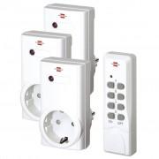 Brennenstuhl Brennenstul Set presa wireless con telecomando RCS 1000 N