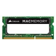 Corsair CMSA32GX3M4C1866C11 Apple Mac Memoria DDR3L da 32GB, Set 4x8GB, 1866Mhz, Certified SODIMM, Verde