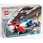 LEGO 4593 Racers - Coches de carreras Zero Hurricane y Red Blizzard (70 piezas)