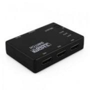 Switch HDMI 3X1 com Controle Remoto (3 Equipamentos x 1 Monitor)