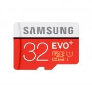 Card Samsung microSDHC EVO Plus 32GB Clasa 10 UHS-I U1 cu adaptor SD