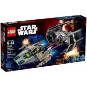 75150 Vader's TIE Advanced vs. A-Wing Starfighter
