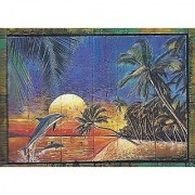 Clementoni Sunset Dolphins 1000 Piece Jigsaw Puzzles