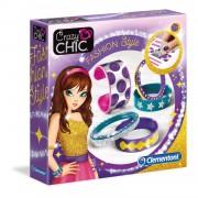 Clementoni - crazy chic 15218 - my creative jewels, fashion style, multicolore