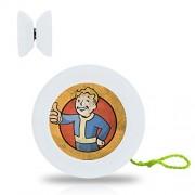 New Style YoYo Ball Fallout Professional Responsive Yo-Yo Bearing Spinning Ball String Spin Toys-White