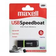 FLASH DRIVE 8GB USB 2.0 SPEEDBOAT MAXELL PLYFD8GM8
