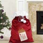 Personalised Luxury Present Plush Sack