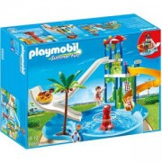 Комплект Плеймобил 6669 - Воден парк с пързалки - Playmobil, 291212