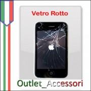 Sostituzione Riparazione Assistenza Vetro Touchscreen per Apple Iphone 3G 3GS