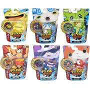 Set of 6: Yo-Kai Watch Medal Moments - Happierre, Wiglin, Blazion, Baddinyan, Komasan, Jibanyan 100 Punch