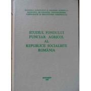 Studiul Fondului Funciar Agricol Al Rsr - Sc Georgescu