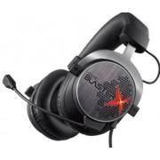 Casti cu Microfon Creative Sound BlasterX H5 Te Gaming, Tournament Edition (Negru/Rosu)