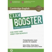 Cambridge English Exam Booster for First and First for Schools Without Answer Key with Audio by Helen Chilton