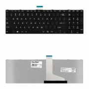 Qoltec Notebook Keyboard for Toshiba L850 Black Frame Matte