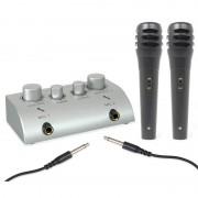 Skytec Мини караоке комплект с 2 Микрофона (Sky-103.112)