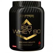 NUTREND Compress Iso Whey 90% 1000 g čokoláda
