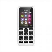Nokia 130 (Dual SIM, White)