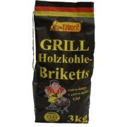 Favorit 4321731 3 kg Charcoal Briquettes - Multi-Colour