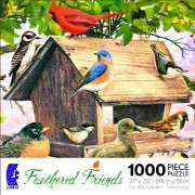 Ceaco Feathered Friends - Birds Of A Feather