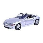 """Motormax GOTZMM73269SL 1:24 Scale Silver """"BMW Z4"""" Die Cast Model Car"""