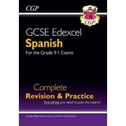 New GCSE Spanish Edexcel Complete Revision & Practice (with CD & Online Edition) - Grade 9-1 Course by CGP Books