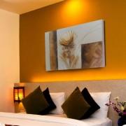 Quadro Flores Marrom 70x100 cm - Uniart
