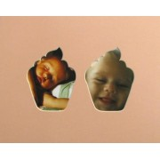"""10x8 Pair Cupcake Shaped Mount"""