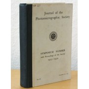 Journal Of The Photomicrographic Society. Symposium Number With Proceedings Of The Society 1927-1930