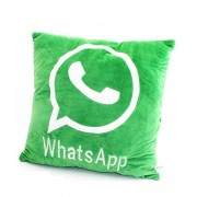 Cool Social Media Logo Pillows For Your Home Car Room Bed Sofa Whatsapp Twitter Wechat FacebookYoutube (Whatsapp Pillow)