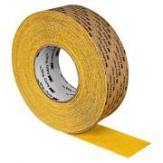 3M Safety-Walk Tira Antideslizante Alta Agresividad Amarillo (102 mm x 18.3 m, Caja de 1)