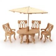 Wood Craft doll house furniture - GARDEN892