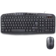Kit Tastatura + Mouse nJoy CM120WR USB Negru