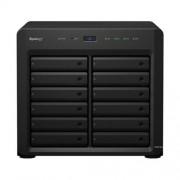 SYNOLOGY NAS Storage 12 Fiókos DS3615xs 2x3,4Ghz, 4Gb RAM, 4x 10/100/1000, 2x USB3.0, 2x bővítőport