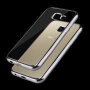 Transparent skal Samsung Galaxy A3 2017 med gråa kanter